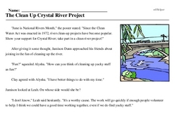 National Rivers Month<BR>The Clean Up Crystal River Project