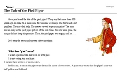 Rat-catcher's Day<BR>The Tale of the Pied Piper