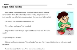 National Salad Week<BR>Super Salad Sunday