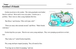 Elephant Day<BR>Gordon's Friends