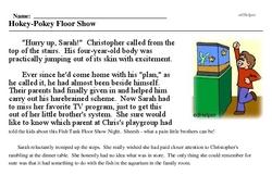Fish Tank Floor Show Night<BR>Hokey-Pokey Floor Show