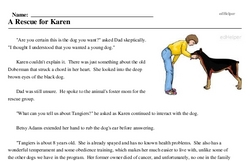 Adopt a Dog Month<BR>A Rescue for Karen