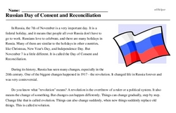Russia<BR>Russian Day of Consent and Reconciliation