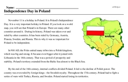 Poland<BR>Independence Day in Poland
