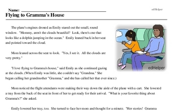 Family Stories Month<BR>Flying to Gramma's House