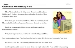 Electronic Greetings Day<BR>Grandma's Non-birthday Card