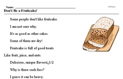 National Fruitcake Day<BR>Don't Be a Fruitcake!