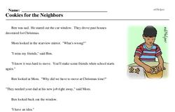 Hi Neighbor Week<BR>Cookies for the Neighbors