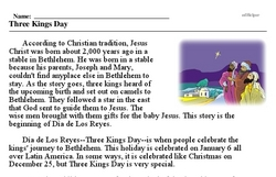 Dailies<BR>Three Kings Day