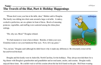 Hat Day<BR>The Travels of the Hat, Part 4: Holiday Happenings