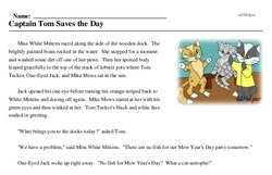 Happy Mew Year for Cats Day<BR>Captain Tom Saves the Day