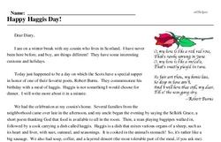 Happy Haggis Day!