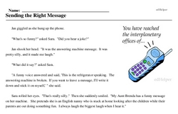 Inane Answering Machine Messages<BR>Sending the Right Message