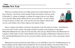 Muslim New Year