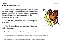 Learn about Butterflies Day<BR>What Makes Butter Fly?