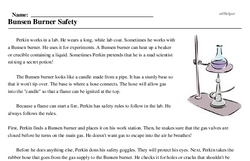 Bunsen Burner Day<BR>Bunsen Burner Safety