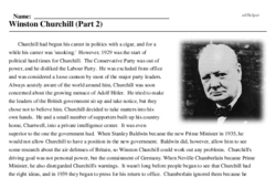 Winston Churchill Day<BR>Winston Churchill (Part 2)