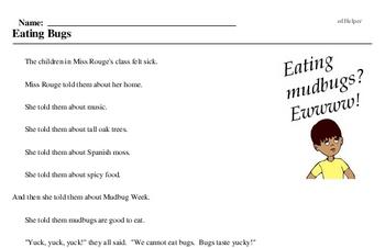 Mudbug Week<BR>Eating Bugs