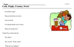 Ice Cream Soda Day<BR>Cold, Tingly, Creamy, Sweet
