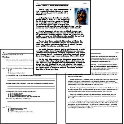 Print <i>Mother Teresa: