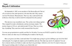 Bicycle Celebration