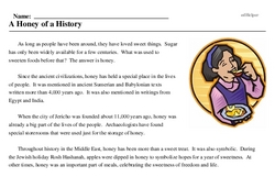 A Honey of a History