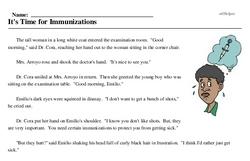 Adult Immunization Week<BR>It's Time for Immunizations