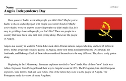 Angola Independence Day