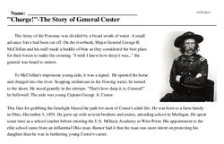 General Custer<BR>