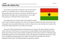 Ghana Revolution Day