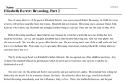 Elizabeth Barrett Browning<BR>Elizabeth Barrett Browning, Part 2