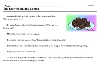 National Brownie Day<BR>The Brownie Baking Contest