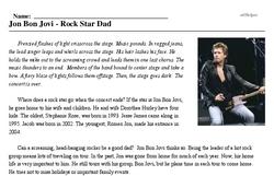 Jon Bon Jovi<BR>Jon Bon Jovi - Rock Star Dad