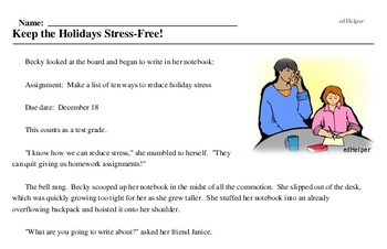 National Stress-Free Holiday Month<BR>Keep the Holidays Stress-Free!