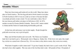 Yukon Discovery Day<BR>Klondike Miners