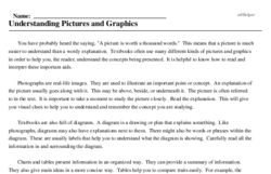 Print <i>Understanding Pictures and Graphics</i> reading comprehension.