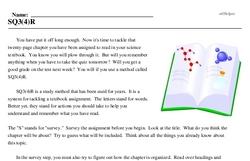 Print <i>SQ3(4)R</i> reading comprehension.