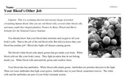 Print <i>Your Blood's Other Job</i> reading comprehension.