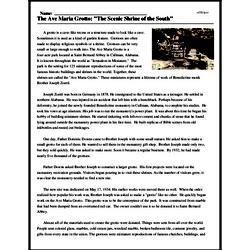 Print <i>The Ave Maria Grotto: