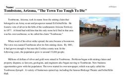 Print <i>Tombstone, Arizona,