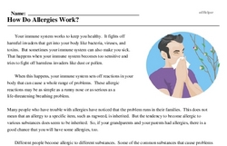 Print <i>How Do Allergies Work?</i> reading comprehension.